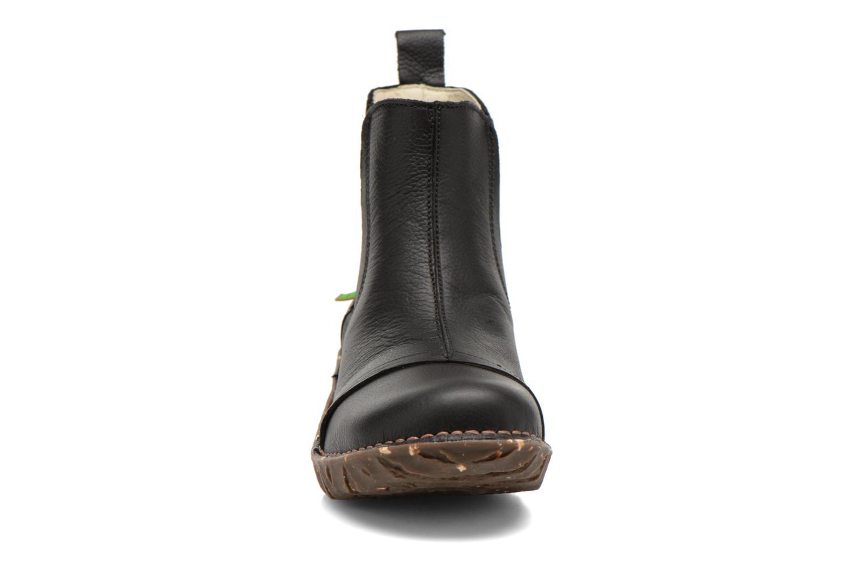 Ankle boots El Naturalista Yggdrasil N158 Black model view