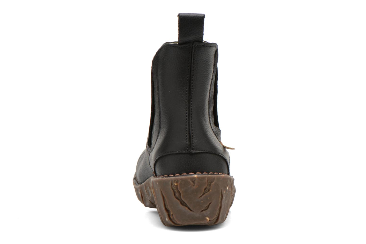 Ankle boots El Naturalista Yggdrasil N158 Black view from the right