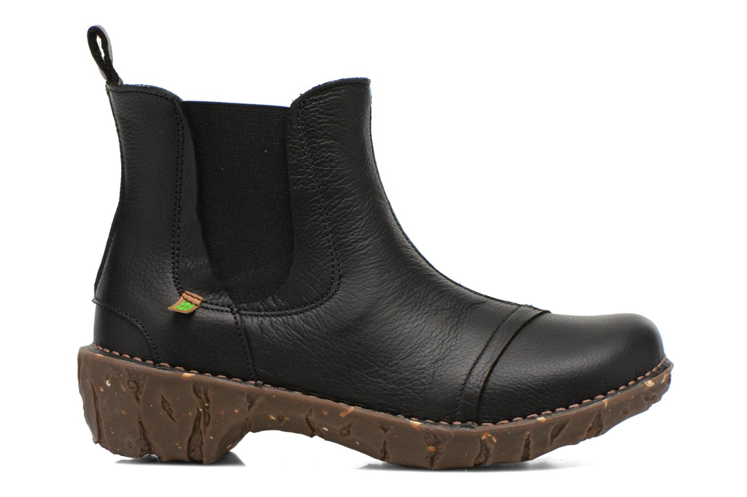 Ankle boots El Naturalista Yggdrasil N158 Black back view