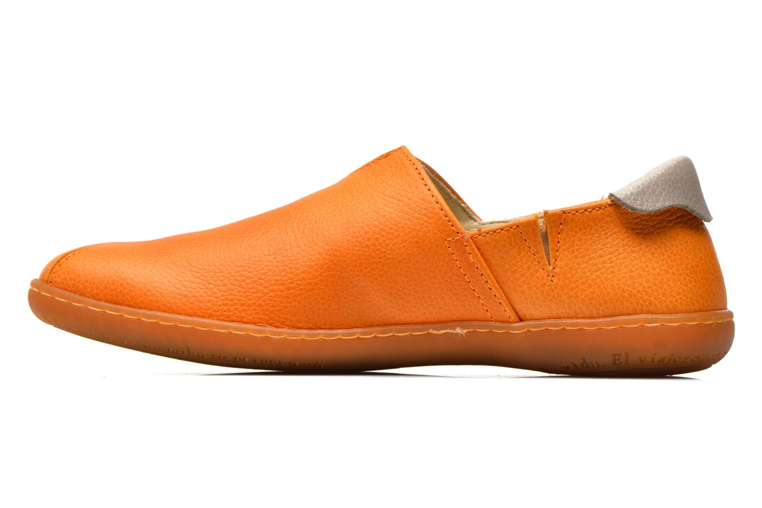 Mocassins El Naturalista El Viajero N275 W Orange vue face
