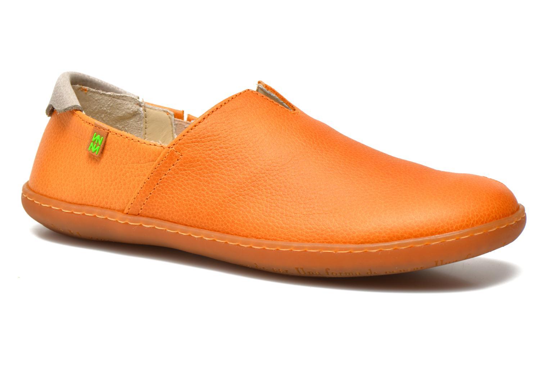 Loafers El Naturalista El Viajero N275 W Orange detailed view/ Pair view