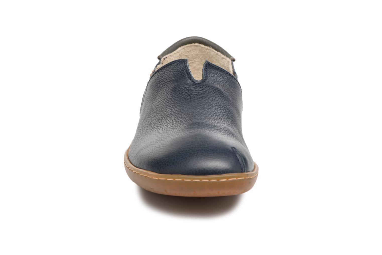 Mocassins El Naturalista El Viajero N275 W Bleu vue portées chaussures