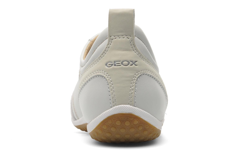 Baskets Geox D VEGA A D3209A Beige vue droite