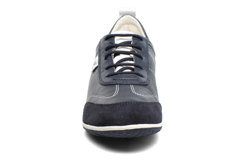 Baskets Geox D VEGA A D3209A Bleu vue portées chaussures