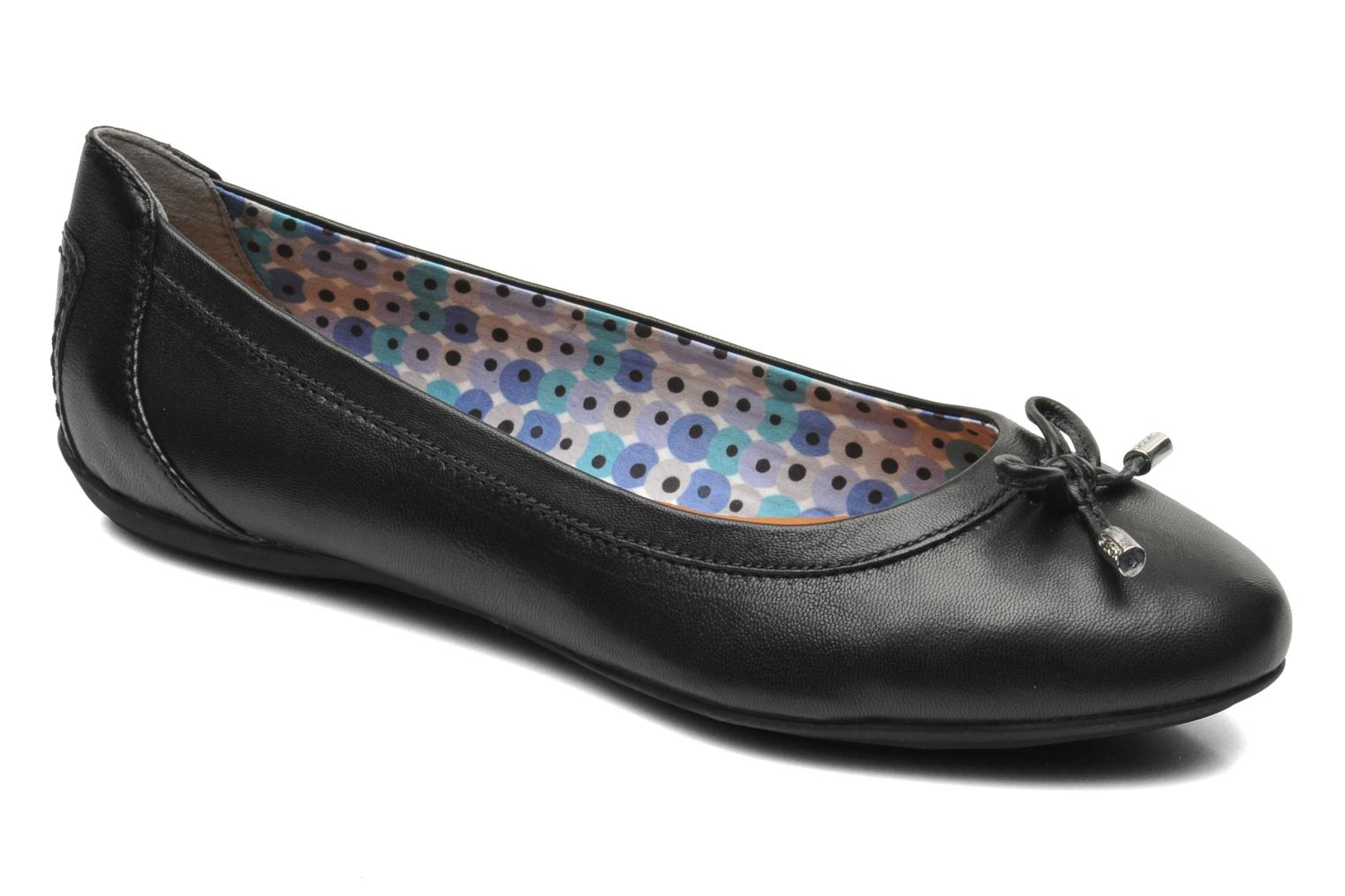 Ballet pumps Geox D CHARLENE A D32Y7A Black detailed view/ Pair view