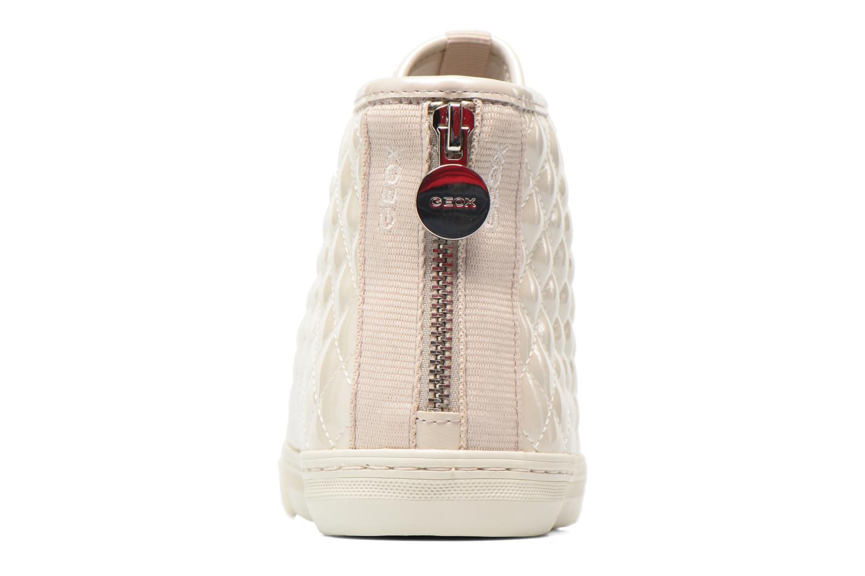 Sneakers Geox D NEW CLUB A D4258A Bianco immagine destra