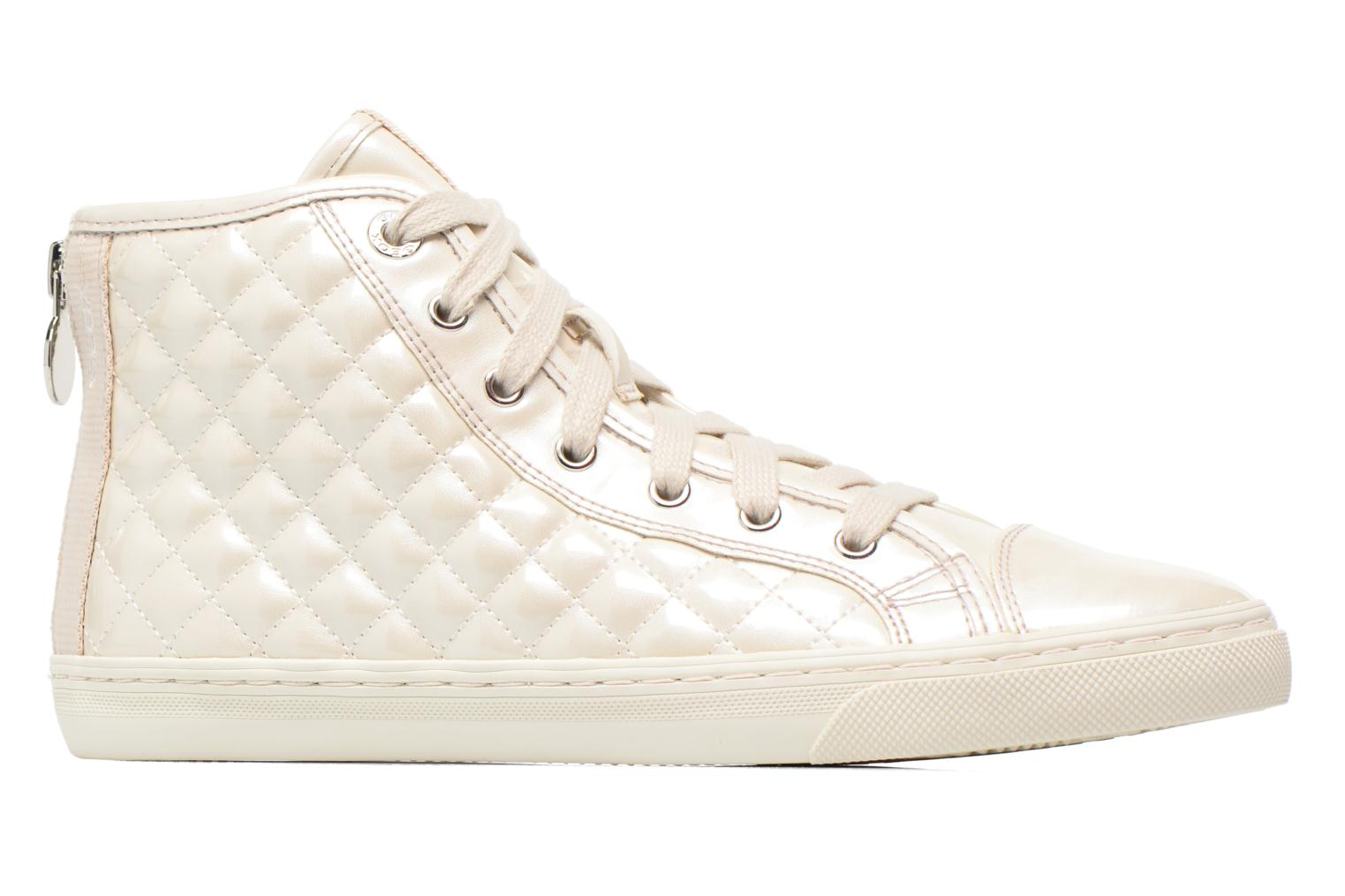 Sneakers Geox D NEW CLUB A D4258A Bianco immagine posteriore