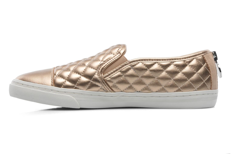 Sneaker Geox D NEW CLUB C D5258C gold/bronze ansicht von vorne