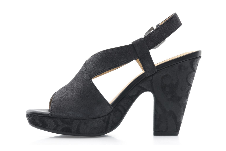 Sandali e scarpe aperte Geox D NURIT A D5271A Nero immagine frontale