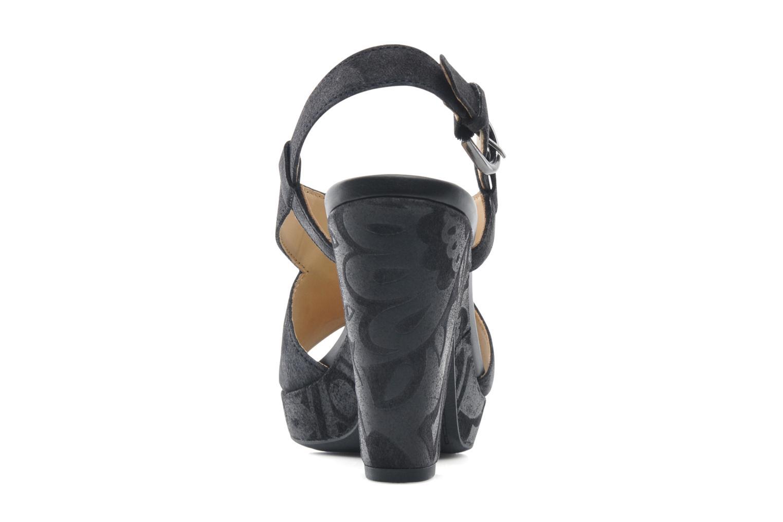 Sandaler Geox D NURIT A D5271A Sort Se fra højre