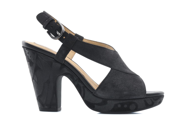 Sandali e scarpe aperte Geox D NURIT A D5271A Nero immagine posteriore