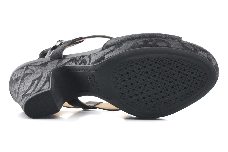 Sandali e scarpe aperte Geox D NURIT A D5271A Nero immagine dall'alto