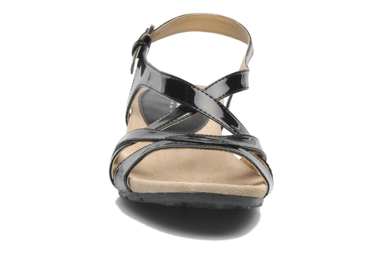 Sandalen Geox D FORMOSA B D5293B schwarz schuhe getragen