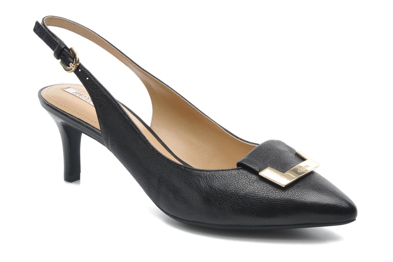 Zapatos de tacón Geox D ELINA D D52P8D Negro vista de detalle / par