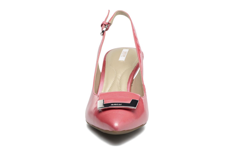 Escarpins Geox D ELINA D D52P8D Rose vue portées chaussures