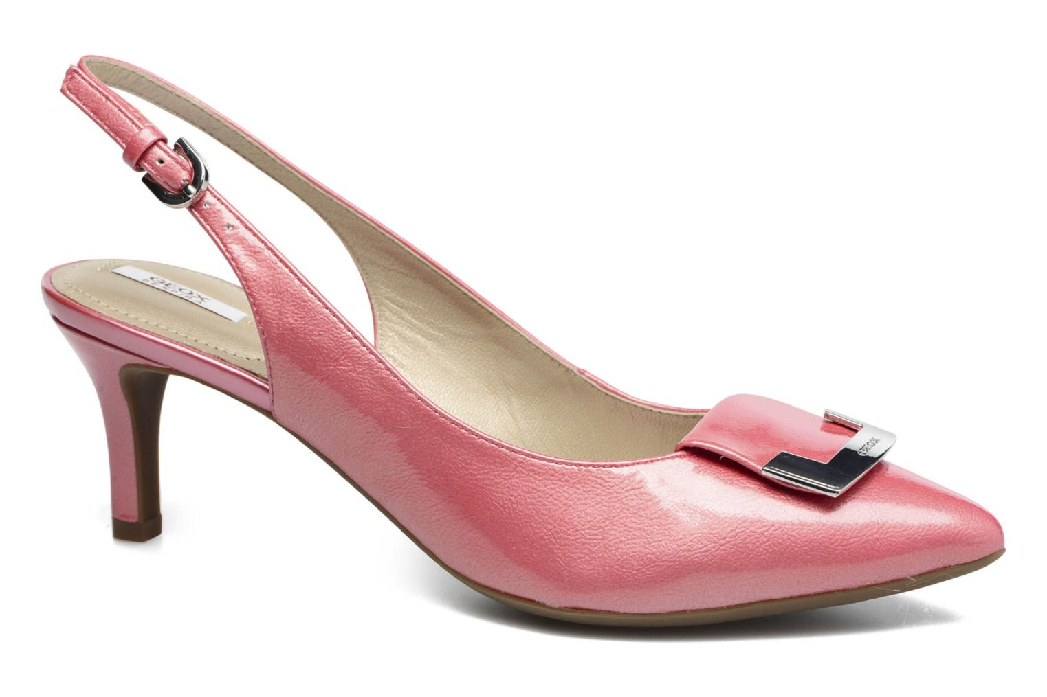 High heels Geox D ELINA D D52P8D Pink detailed view/ Pair view