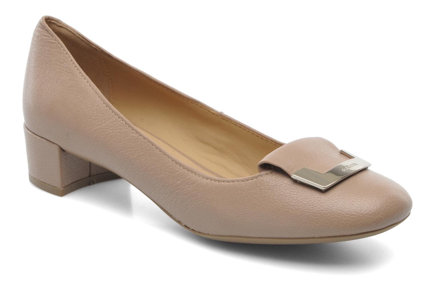 Chaussures Geox Carey taupe Casual femme FneT0kUE