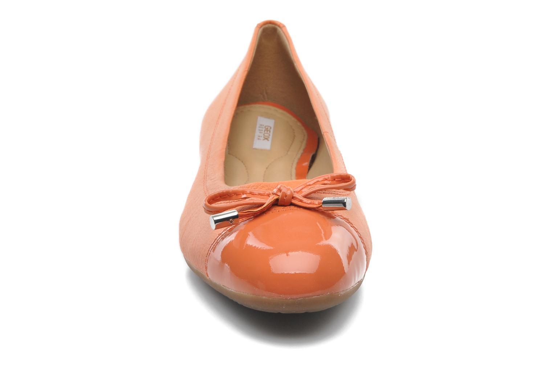Ballerinas Geox D LOLA A D93M4A orange schuhe getragen