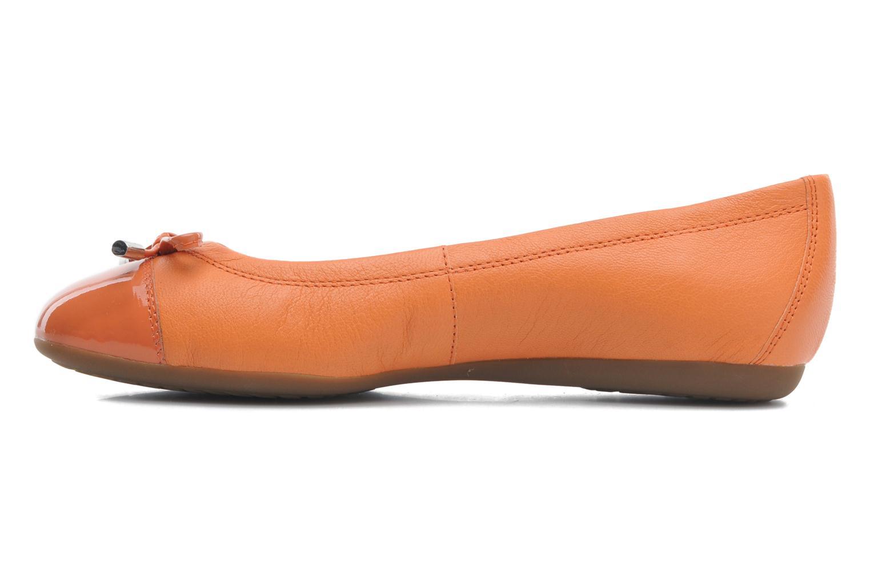 Ballerina's Geox D LOLA A D93M4A Oranje voorkant