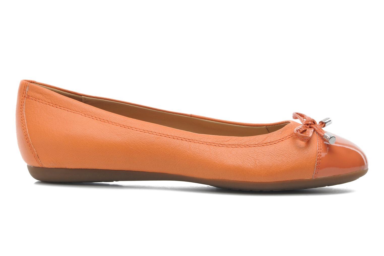 Ballerinas Geox D LOLA A D93M4A orange ansicht von hinten