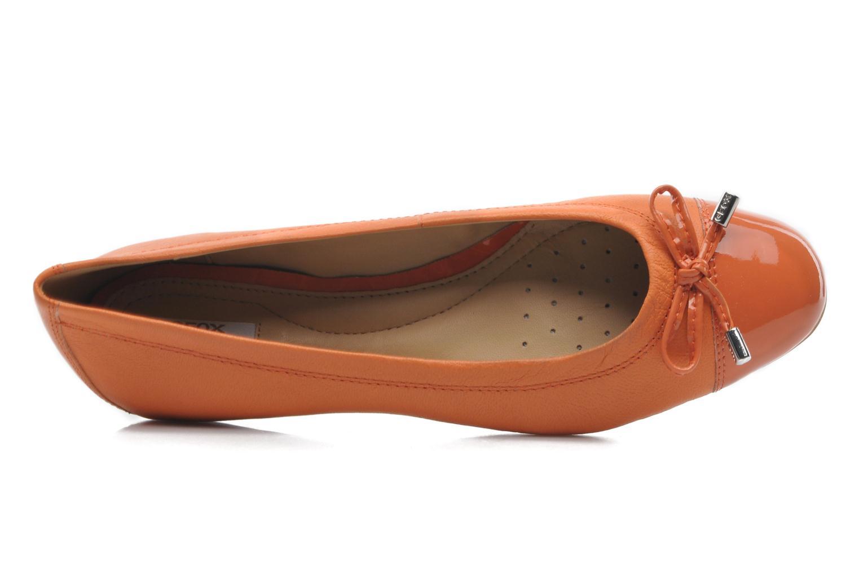 Ballerinas Geox D LOLA A D93M4A orange ansicht von links