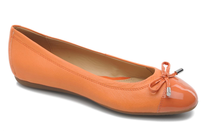 Ballerina's Geox D LOLA A D93M4A Oranje detail