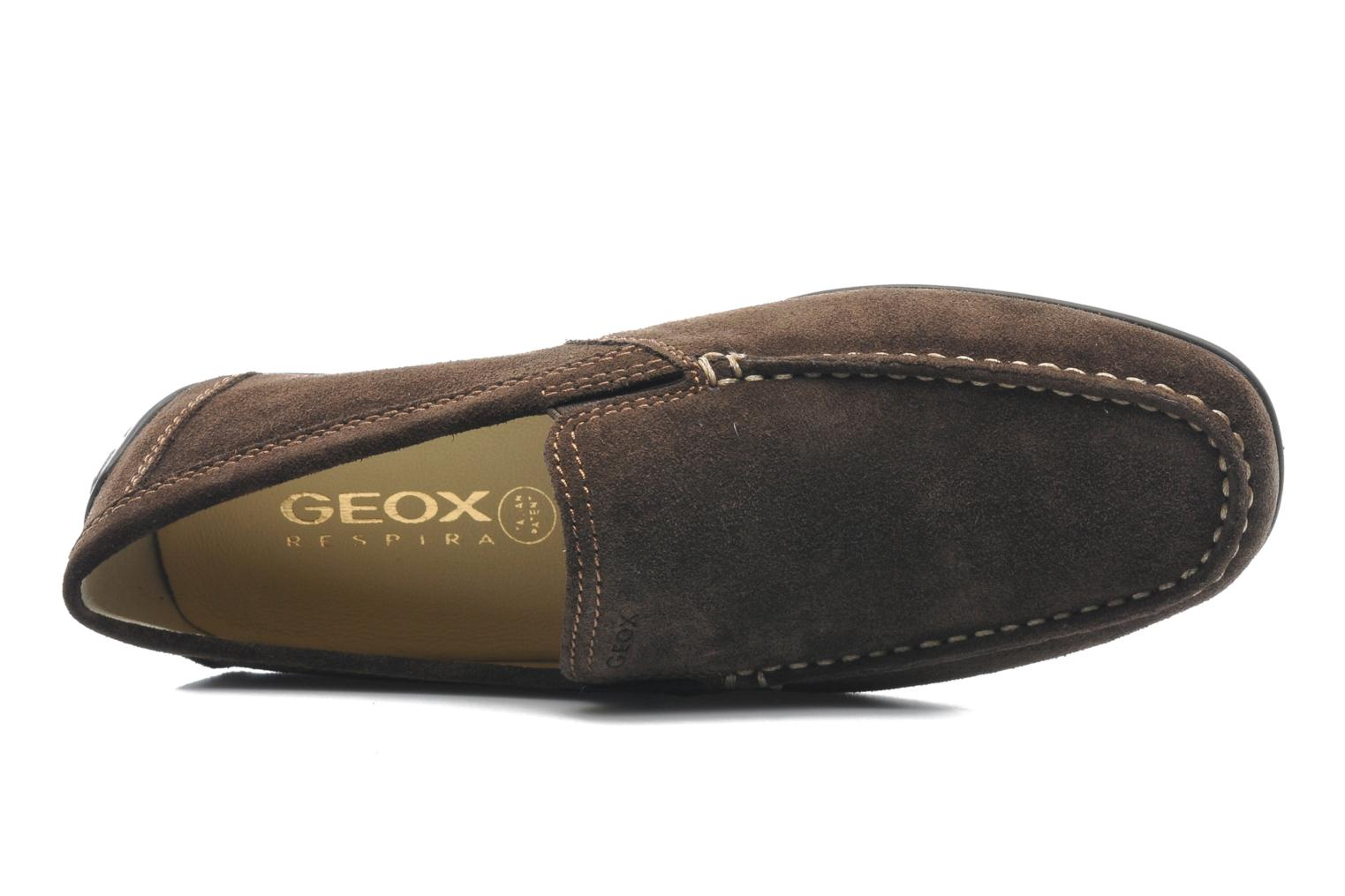 Mocassins Geox U MONET V U1144V Bruin links