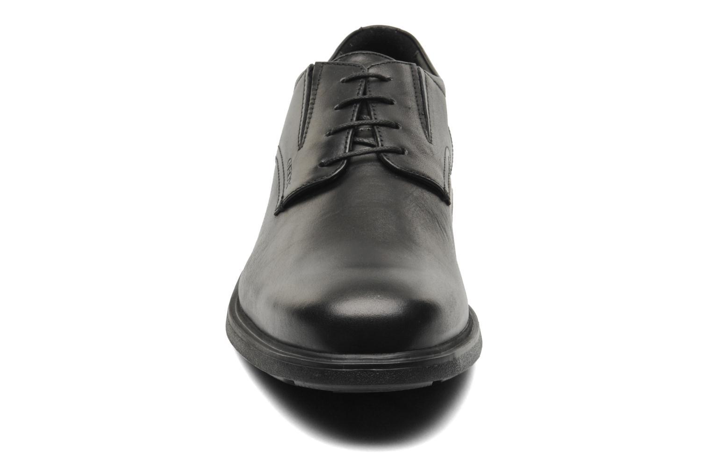 Schnürschuhe Geox U DUBLIN A U34R2A schwarz schuhe getragen