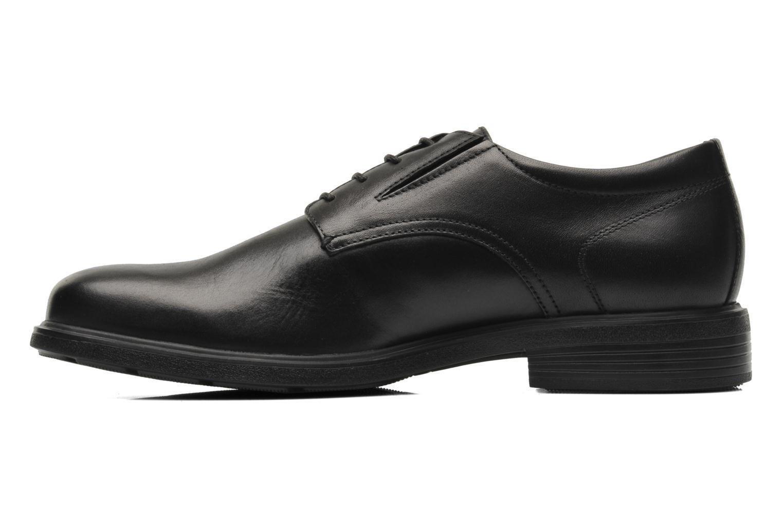 Chaussures à lacets Geox U DUBLIN A U34R2A Noir vue face