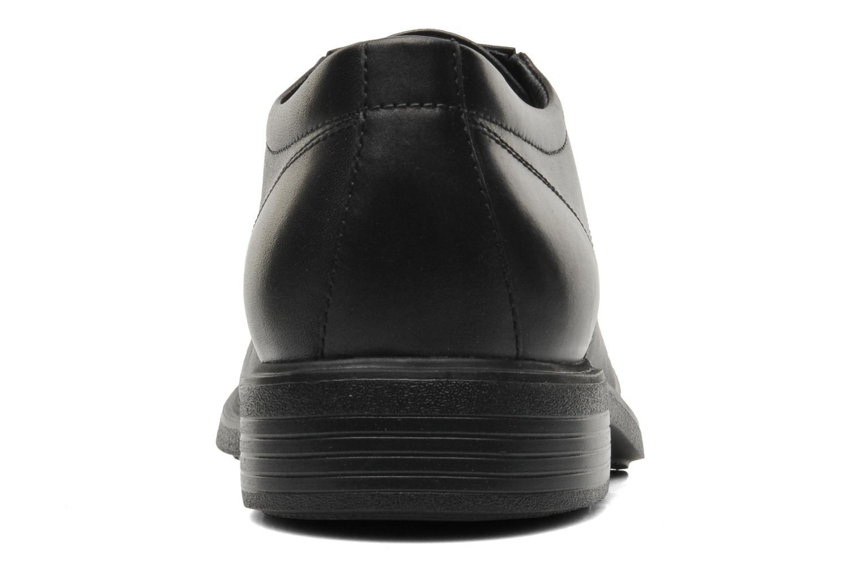 Chaussures à lacets Geox U DUBLIN A U34R2A Noir vue droite