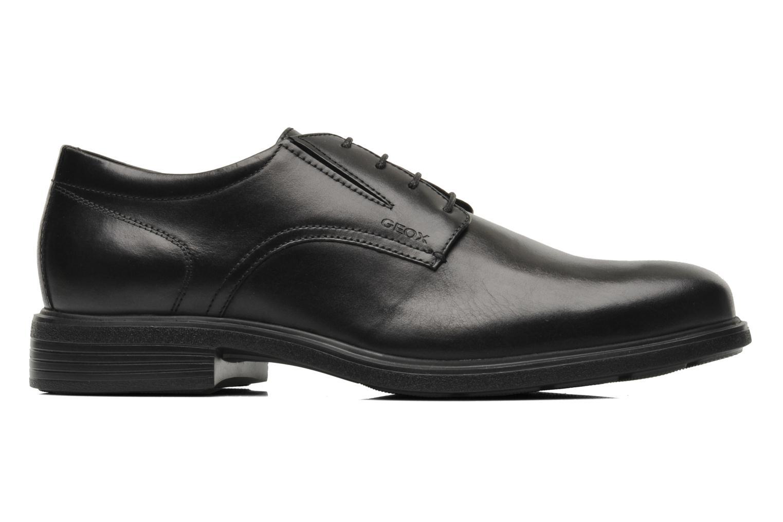 Chaussures à lacets Geox U DUBLIN A U34R2A Noir vue derrière