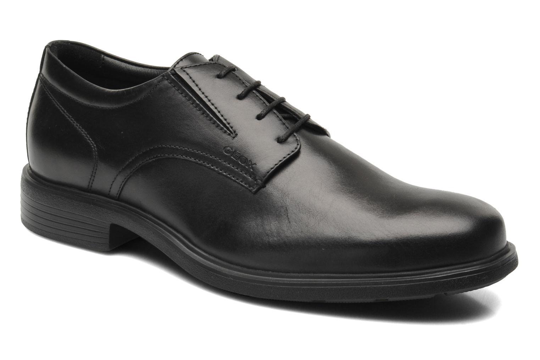 Chaussures à lacets Geox U DUBLIN A U34R2A Noir vue détail/paire
