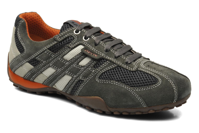 Sneaker Geox U SNAKE K U4207K grau detaillierte ansicht/modell