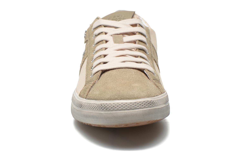 Baskets Geox U SMART D U52X2D Beige vue portées chaussures