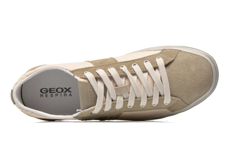 Baskets Geox U SMART D U52X2D Beige vue gauche