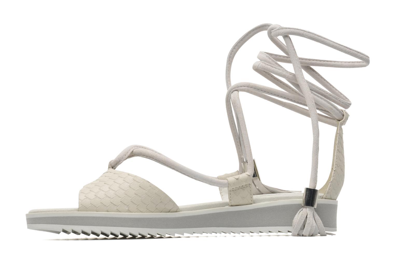 Sandales et nu-pieds Geox By Patrick Cox D DANDELION A D5291A Blanc vue face