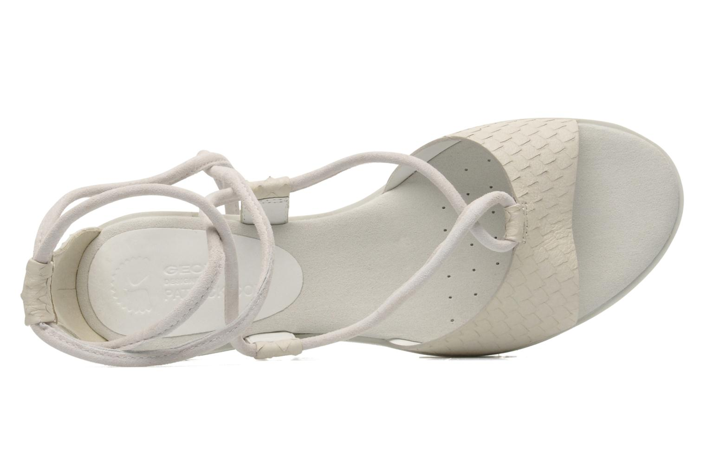 Sandales et nu-pieds Geox By Patrick Cox D DANDELION A D5291A Blanc vue gauche