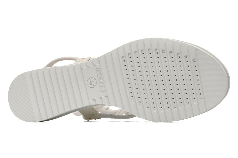 Sandales et nu-pieds Geox By Patrick Cox D DANDELION A D5291A Blanc vue haut