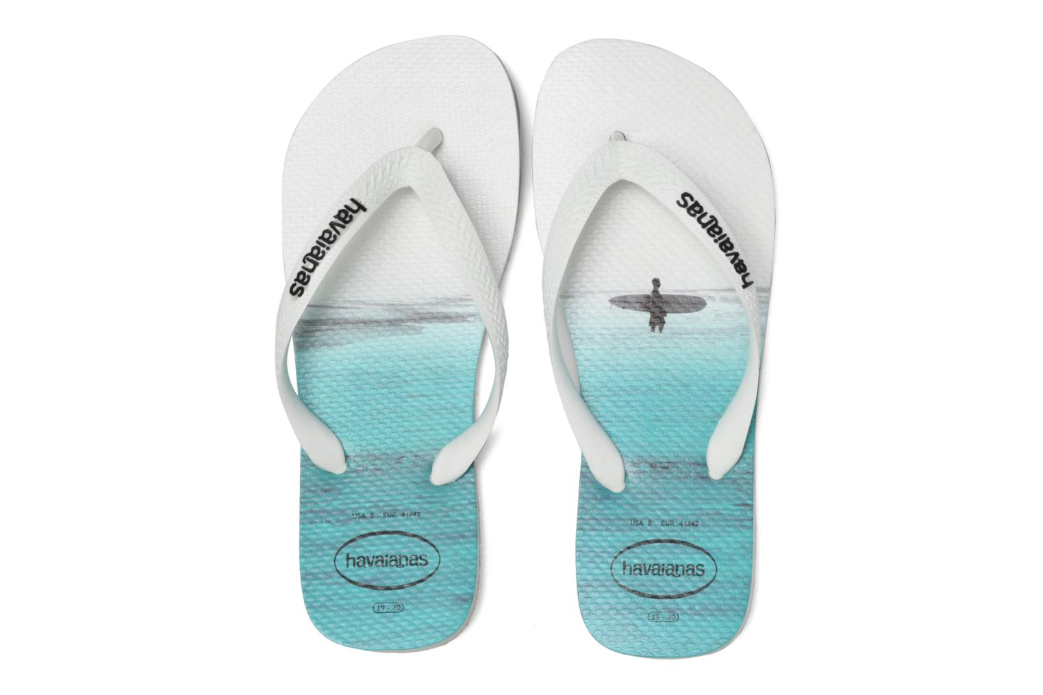 Tongs Havaianas Hype Blanc vue 3/4