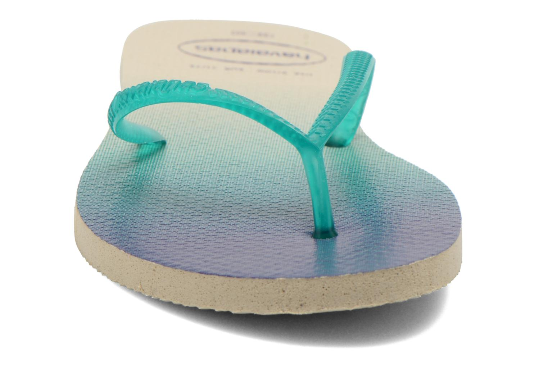 Tongs Havaianas Havaianas Flat Sunset Bleu vue portées chaussures