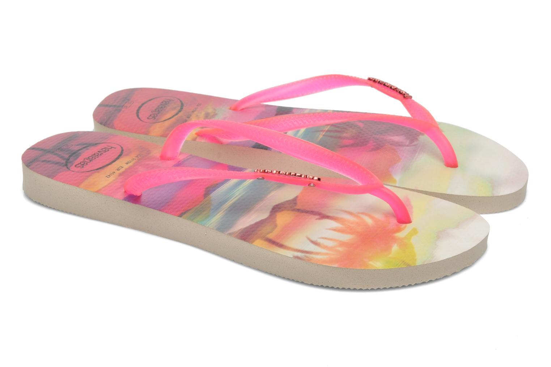 Slippers Havaianas Slim Paisage Roze 3/4'