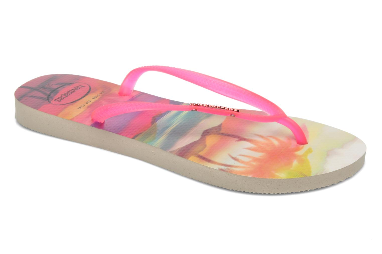 Slippers Havaianas Slim Paisage Roze detail