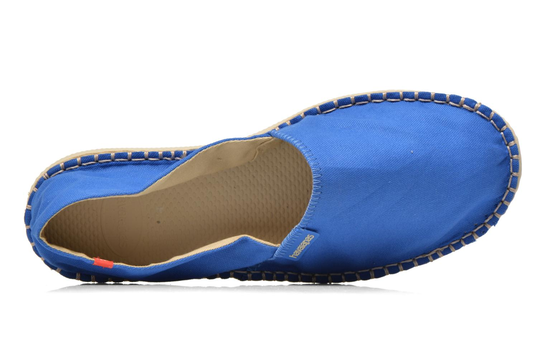 Espadrilles Havaianas Origine 2 M Bleu vue gauche