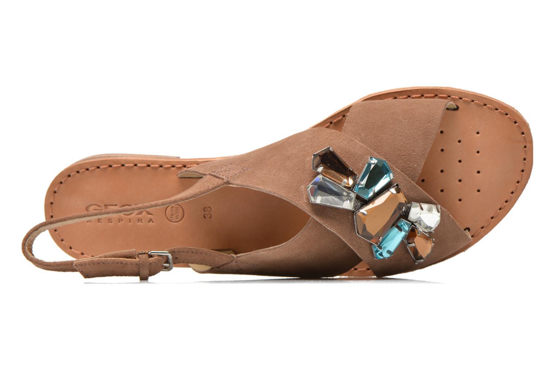 Sandales et nu-pieds Geox D JOLANDA C D5275C Marron vue gauche