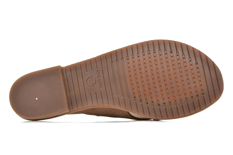 Sandales et nu-pieds Geox D JOLANDA C D5275C Marron vue haut