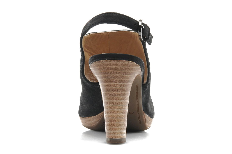 Sandales et nu-pieds Geox D LANA SAND B D52Q5B Noir vue droite