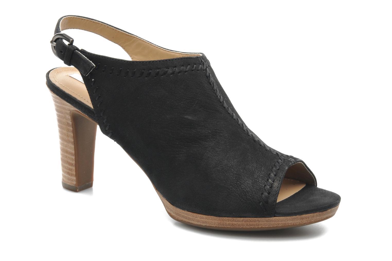 Sandales et nu-pieds Geox D LANA SAND B D52Q5B Noir vue détail/paire