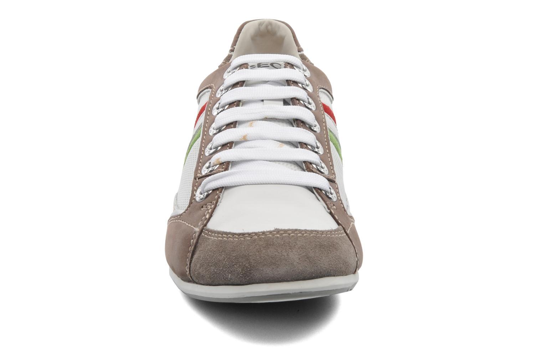 Baskets Geox U ANDREA P U01Z2P Blanc vue portées chaussures