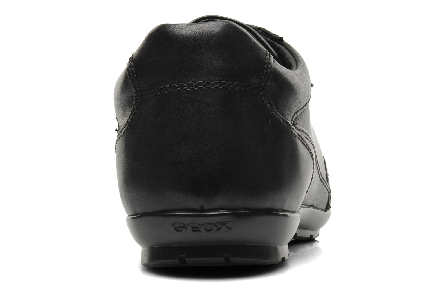 Trainers Geox U SYMBOL D U34A5D Black view from the right