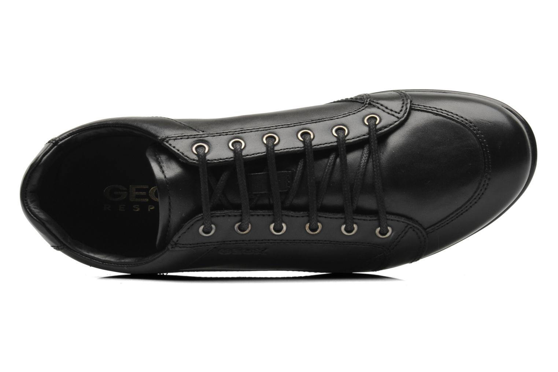 Baskets Geox U SYMBOL D U34A5D Noir vue gauche